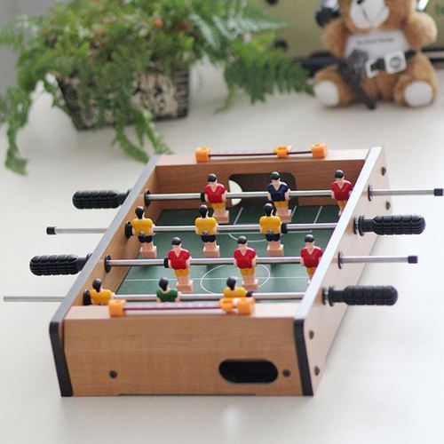 Four Rod Mini Soccer Foosball Table Toy Image 1