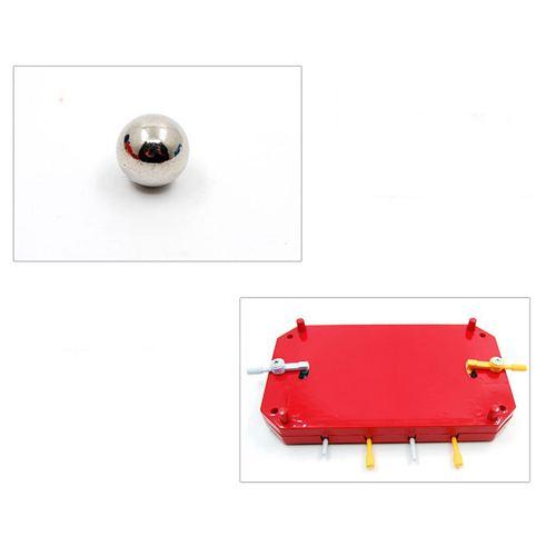 Mini Simulation 4 Pole Baby Soccer Toys Image 3