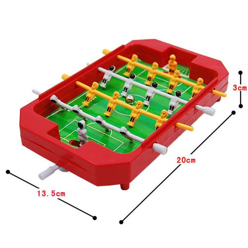 Mini Simulation 4 Pole Baby Soccer Toys Imprint Image