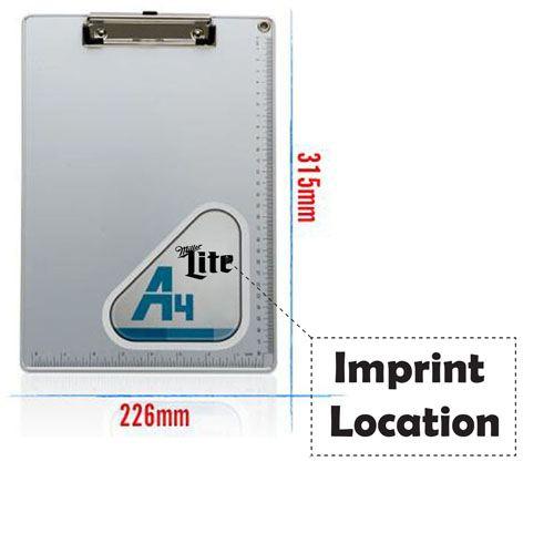 Drawing Writing Clip Board Imprint Image