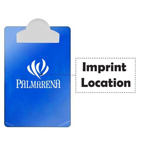 Letter Clip Board Round Clip Imprint Image