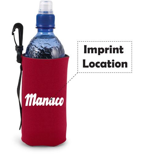 Scuba Bottle Bag Clip Imprint Image
