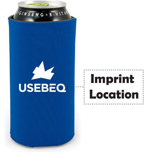 Large Energy Drink Coolie Imprint Image