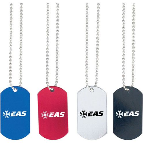 Bead Chain of Dog Tag Image 1