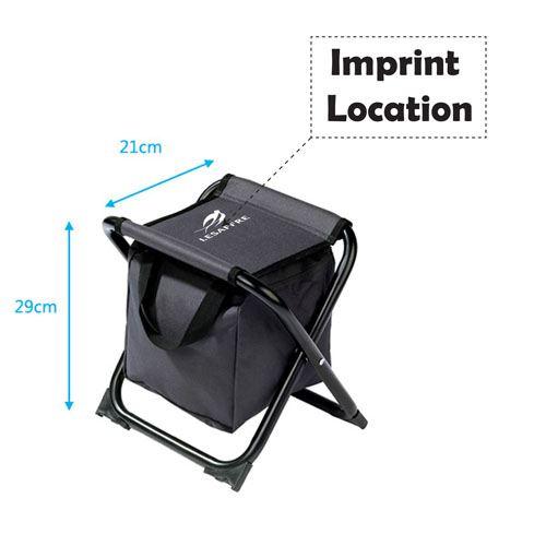 Folding Stool Fishing Chair Imprint Image
