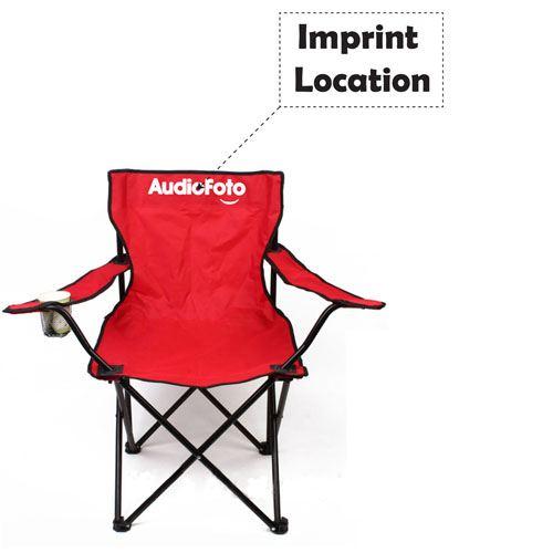 Fishing Armrest Folding Chair  Imprint Image