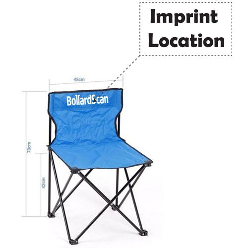 Large Outdoor Folding Chair Imprint Image