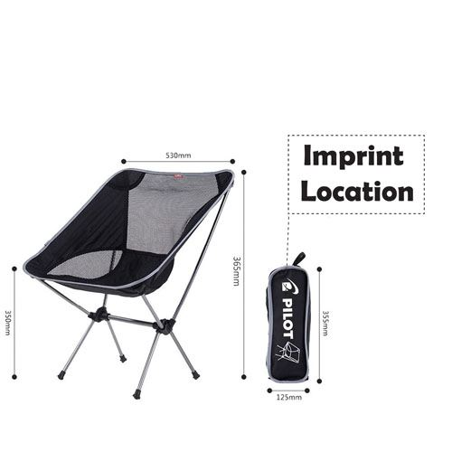 Lightweight Hiking Seat Chair Imprint Image