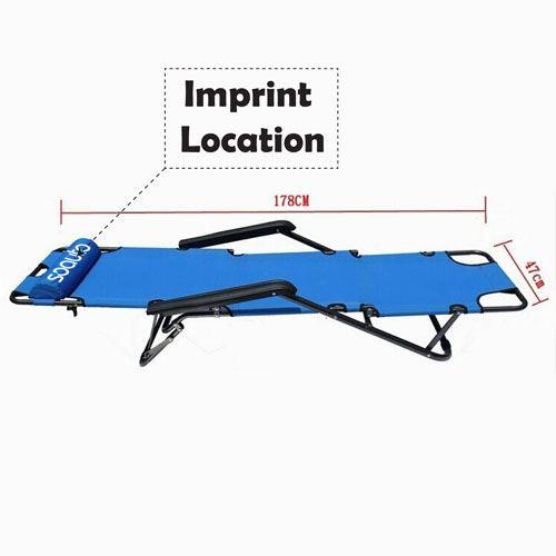 Leisure Folding Reclainer Chair Imprint Image