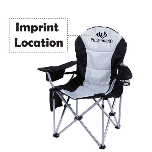 Breathable Fabric Folding Chairs Imprint Image
