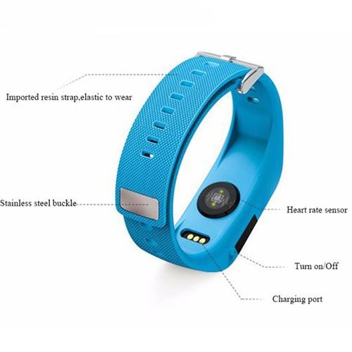Activity Tracker Wireless Wrist Heart Rate Monitor Image 3