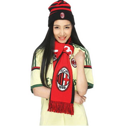 Milan Soccer Team Unisex Scarves Image 4