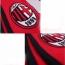 Milan Soccer Team Unisex Scarves Image 5