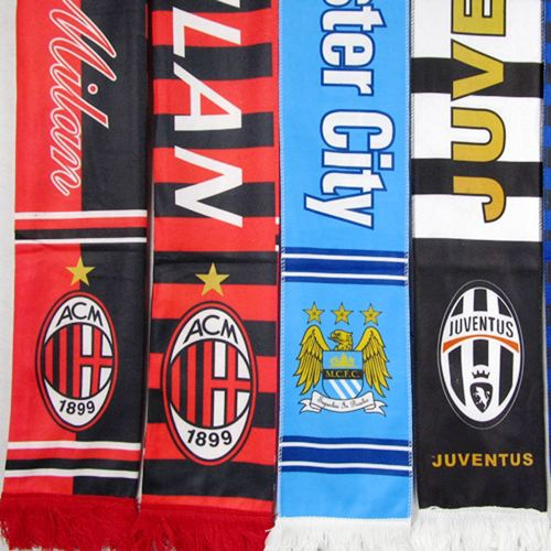 Printed Scarves Sports Logo  Image 3