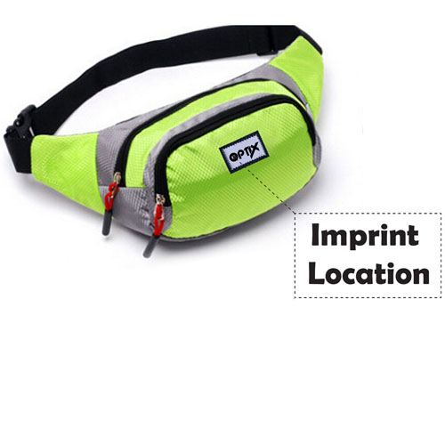 Outdoor Mountaineering Waist Bag  Imprint Image