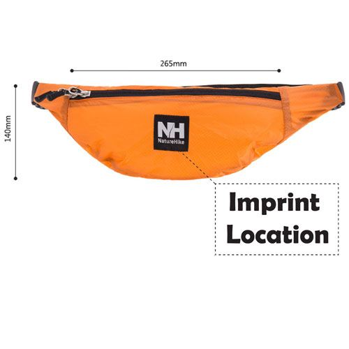 Camping Sports Waist Belt Imprint Image