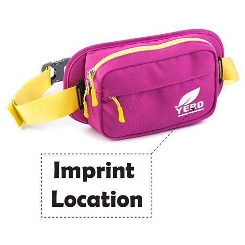 Casual Running Sports Waist Pack Imprint Image