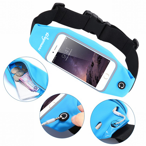 Men Women Fitness Waist Bag Image 1