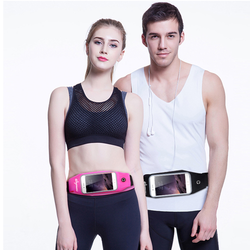 Men Women Fitness Waist Bag Image 2
