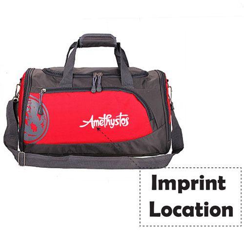 Training Sport Fitness Shoulder Bag  Imprint Image