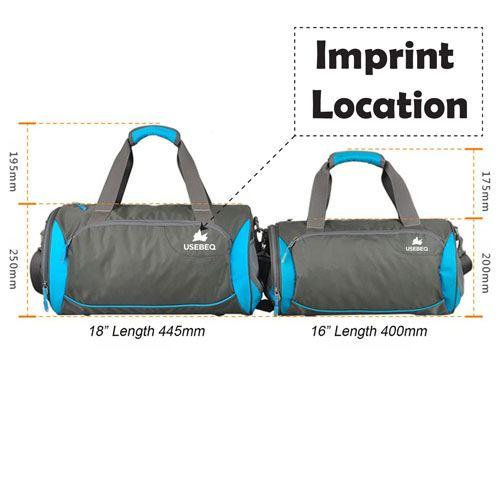 Sport Men Camping Shoulder Bag Imprint Image