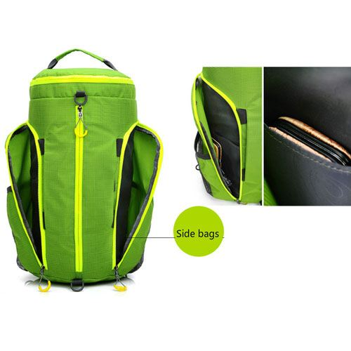 Folding Women Fitness Sports Bag Image 1