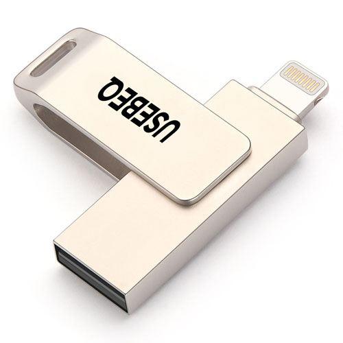 Rotating Lightning U Disk 1GB USB Flash Drive Image 2