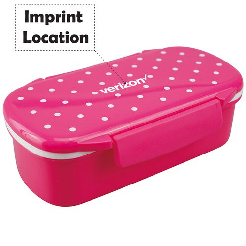Bento Lunch Box Microwavable Imprint Image