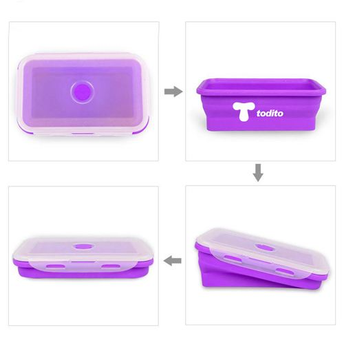 Silicone Collapsible Box Image 3