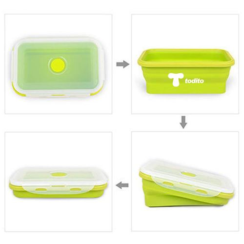 Silicone Collapsible Box Image 4