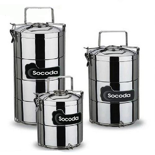 Lunch Box 3 Layer Big 2.8L Food Container