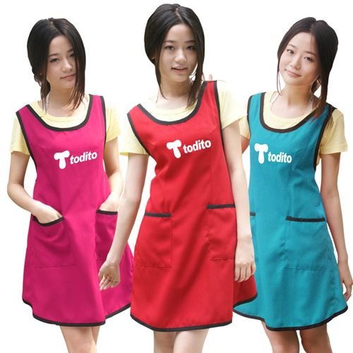 Female Korean Cooking Apron