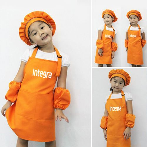 Adjustable Children Cooking Aprons