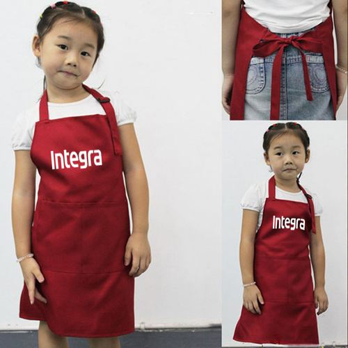 Adjustable Children Cooking Aprons Image 2
