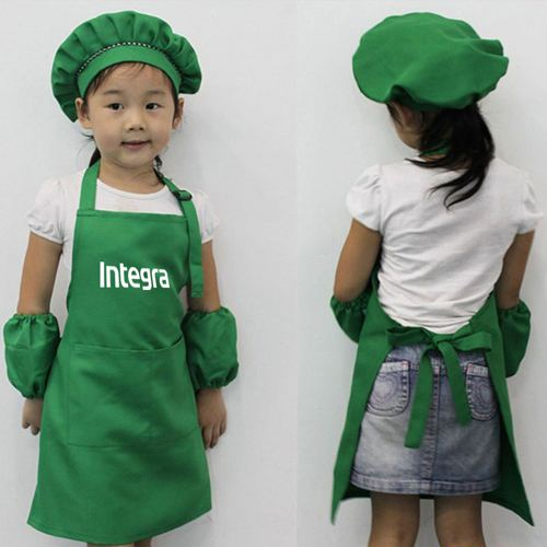 Adjustable Children Cooking Aprons Image 5
