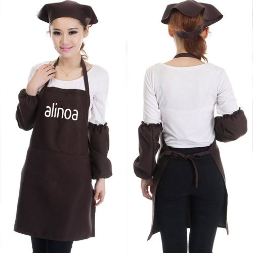 Restaurant Commercial Aprons With Pocket Image 3