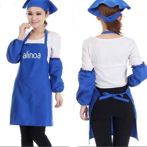 Restaurant Commercial Aprons With Pocket Image 4