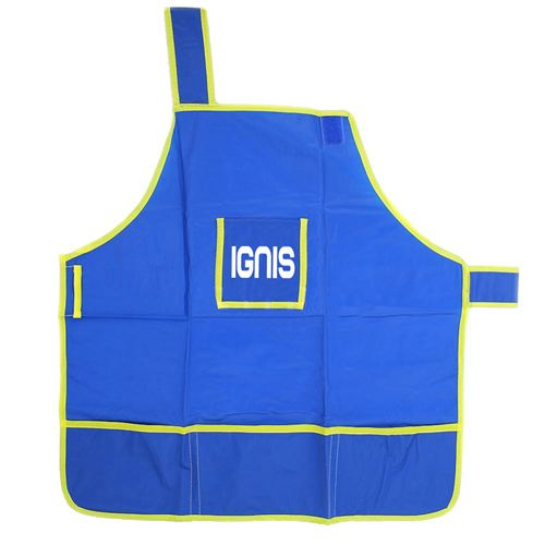Childrens Craft Apron With 4 Pockets Image 2