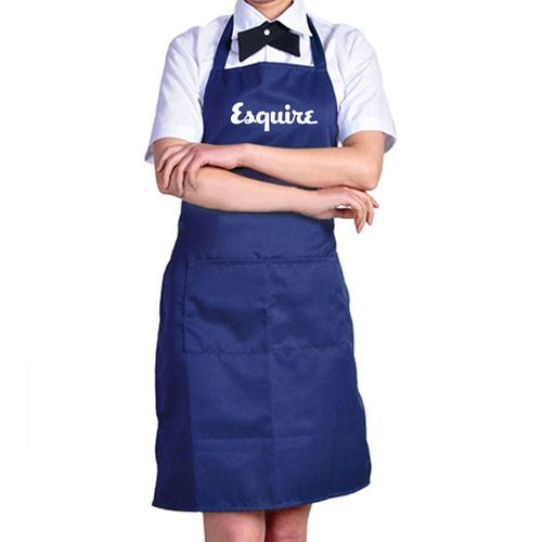 Front Pockets Plain Aprons