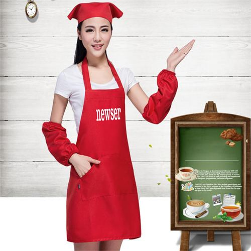 Korean Waiter Cooking Aprons Image 1