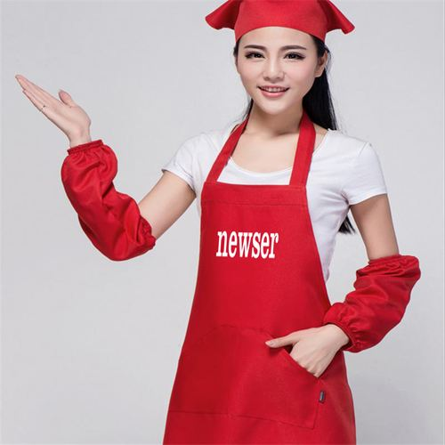 Korean Waiter Cooking Aprons Image 5
