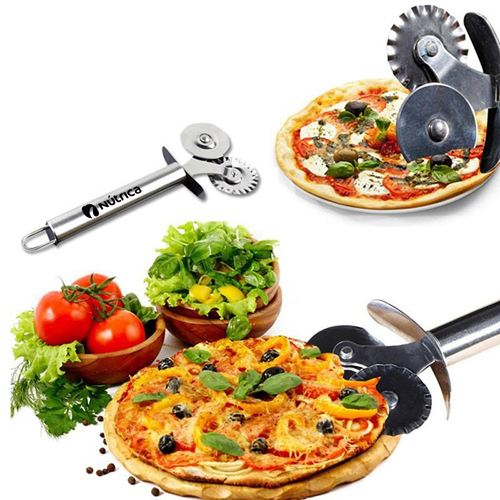 Pizza Cutter Cookie Dough Crimper