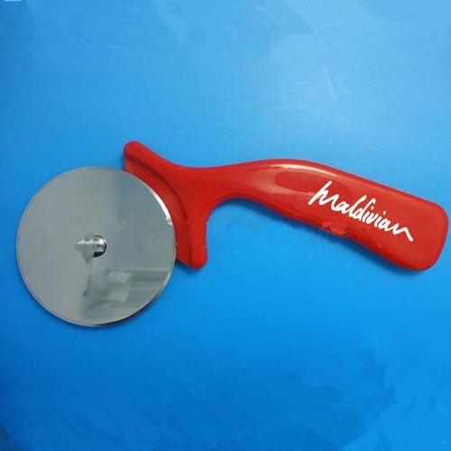 Pizza Cutter Round Shape Wheel Image 1