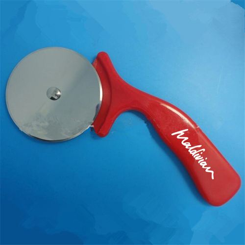 Pizza Cutter Round Shape Wheel Image 3