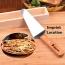Pizza Shovel Cake Baking Tool Imprint Image