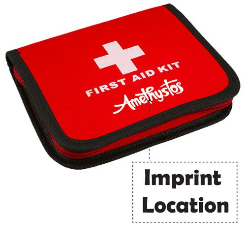 Medical Emergency First Aid Kit Imprint Image