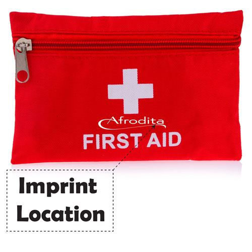 Sport Camping Travel First Aid Kit  Imprint Image
