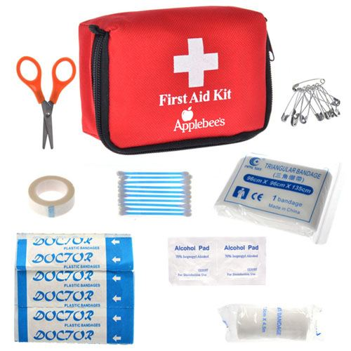 First Aid Kit Emergency Bag Image 1