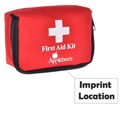 First Aid Kit Emergency Bag Imprint Image