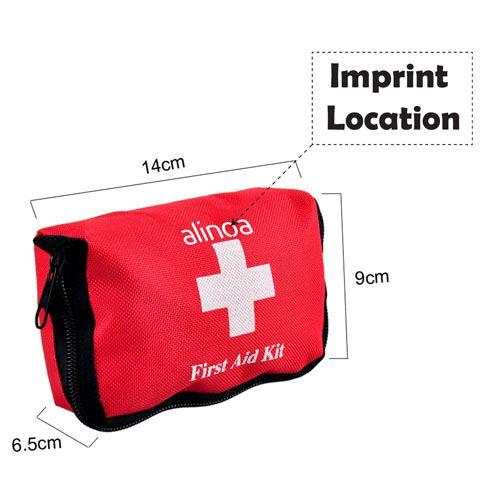 Mini First Aid Emergency Car  Imprint Image